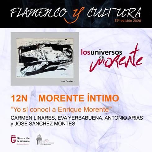 """""""Yo sí conocí a Enrique"""": un encuentro entre amigos de Morente abre mañana el ciclo de flamenco de la Diputación"""