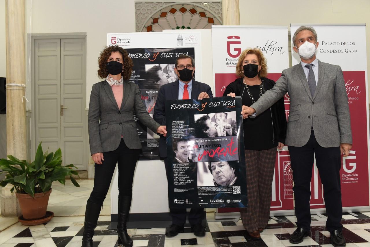 El ciclo de flamenco de Diputación reivindica el legado del cantaor Enrique Morente