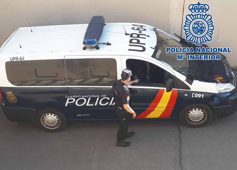 Detenido tras denunciar el robo de su vehículo para evitar la responsabilidad en un accidente