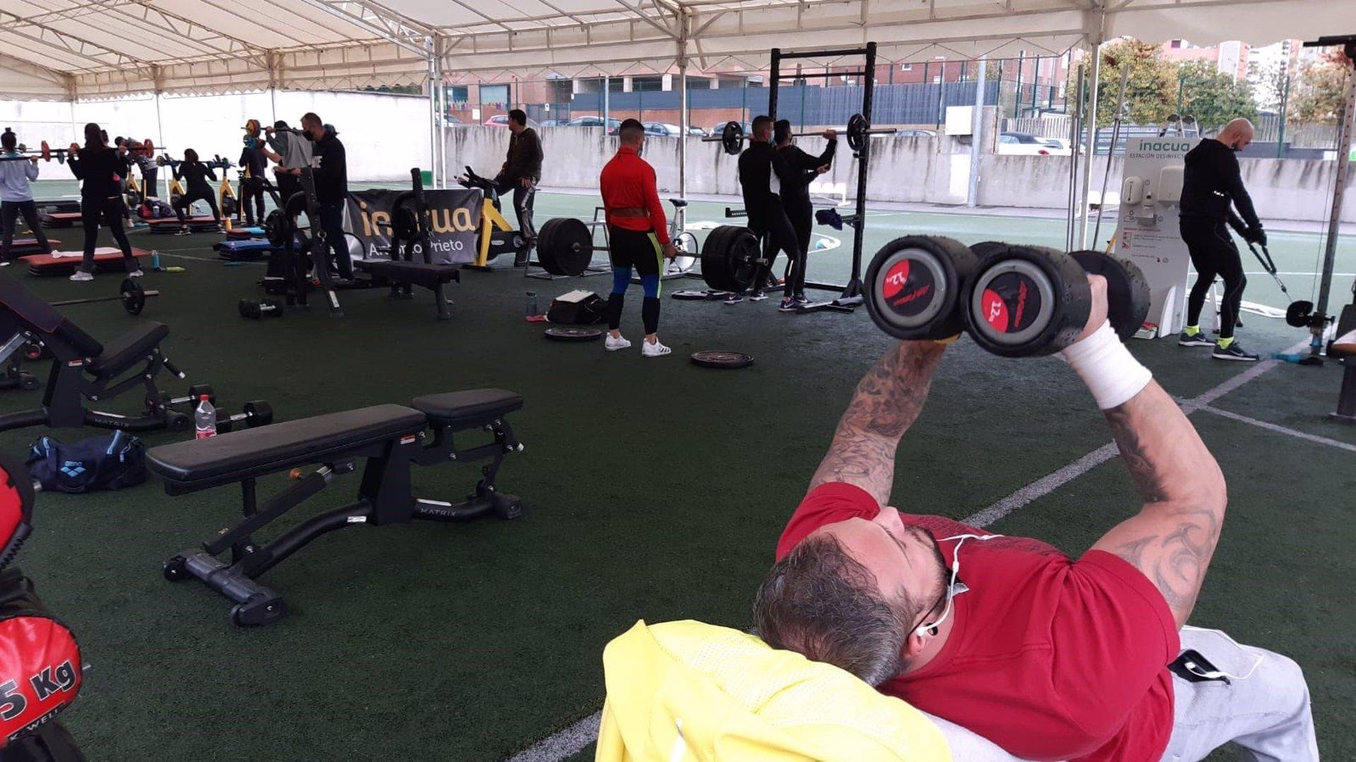 Los gimnasios con concesión pública, ofrecen actividades deportivas al aire libre