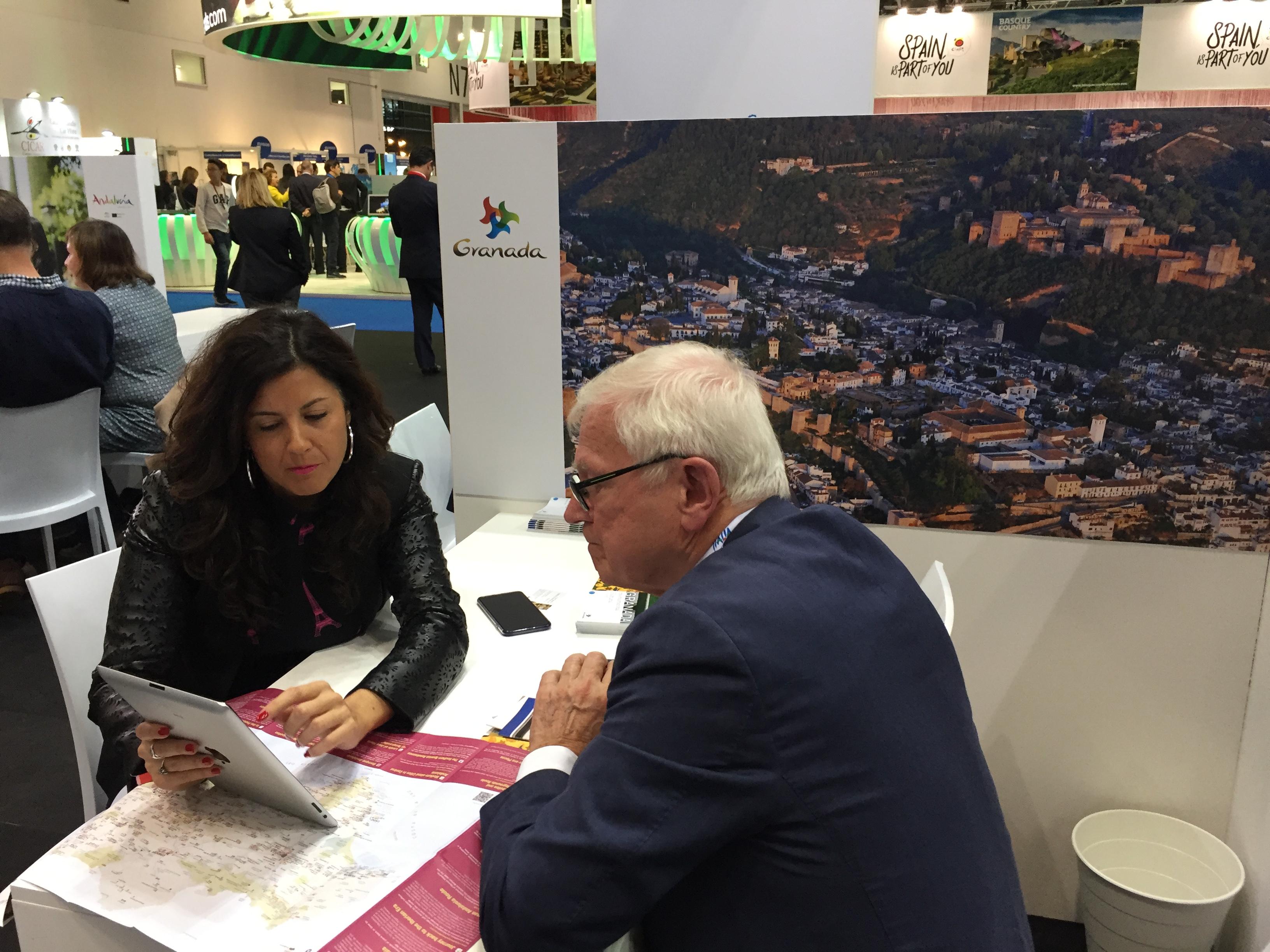 Granada participa en el World Travel Market con la esperanza de recuperar el turismo en 2021