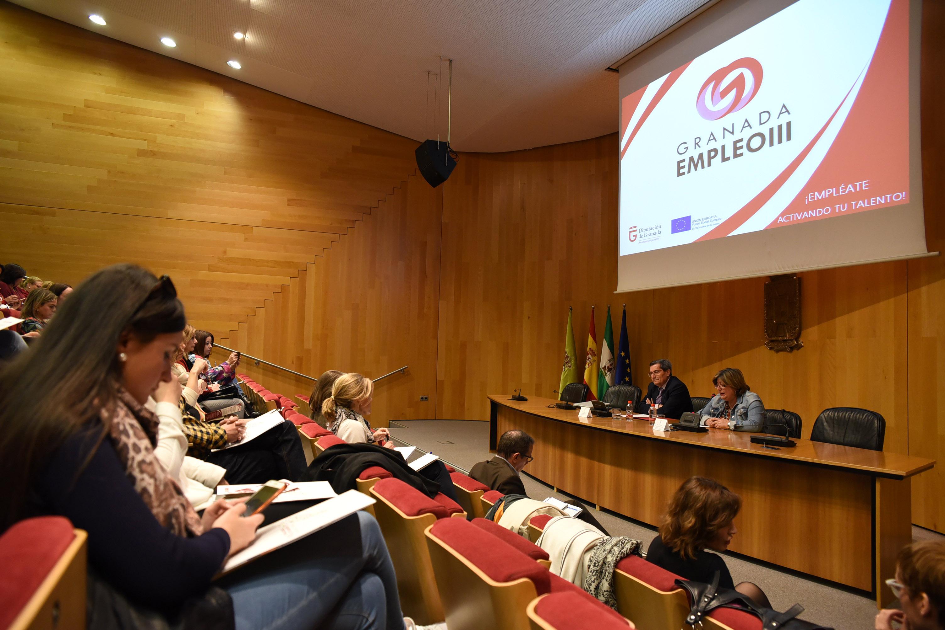 Tres itinerarios formativos promovidos por Diputación consiguen un 20% de inserción laboral