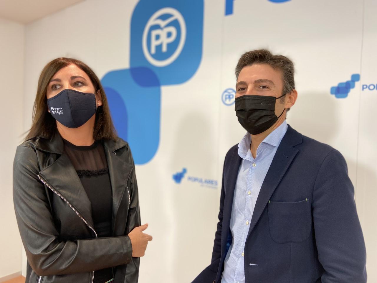 El PP reclama al PSOE que se sume a la iniciativa para exigir la rebaja del IVA de las mascarillas