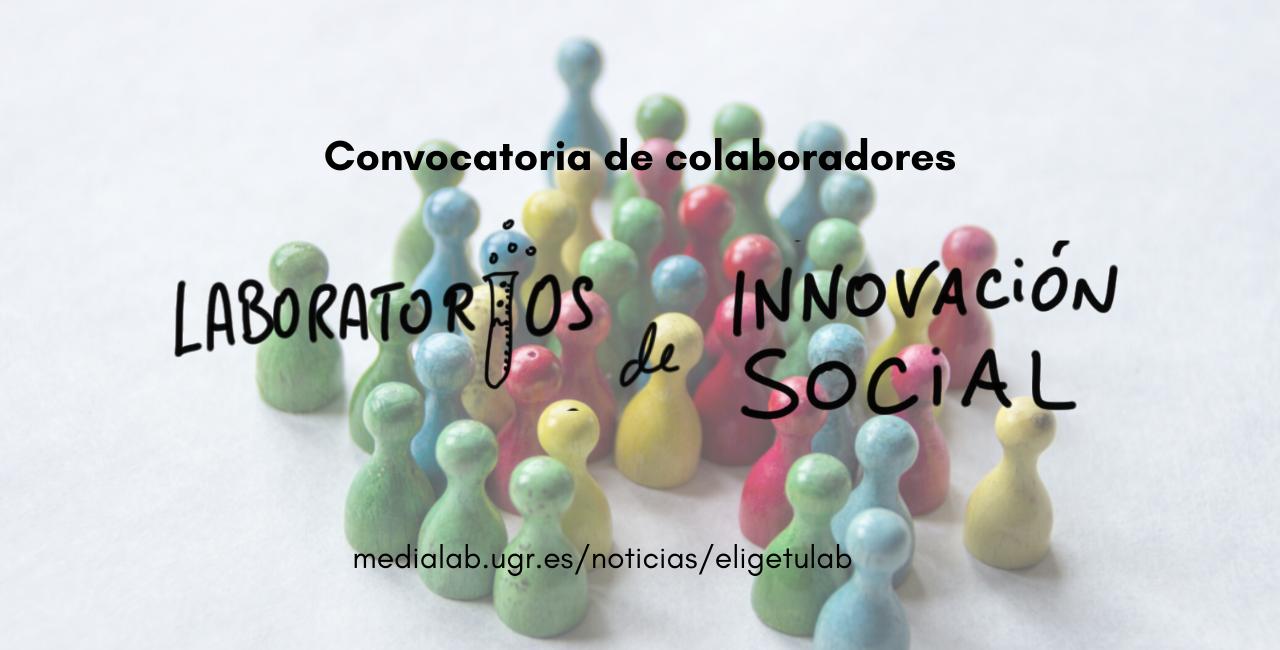 Abiertos los Laboratorios de Innovación Social de la UGR a la participación ciudadana