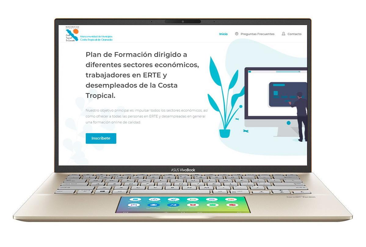La Mancomunidad Costa Tropical amplía su plan de formación online