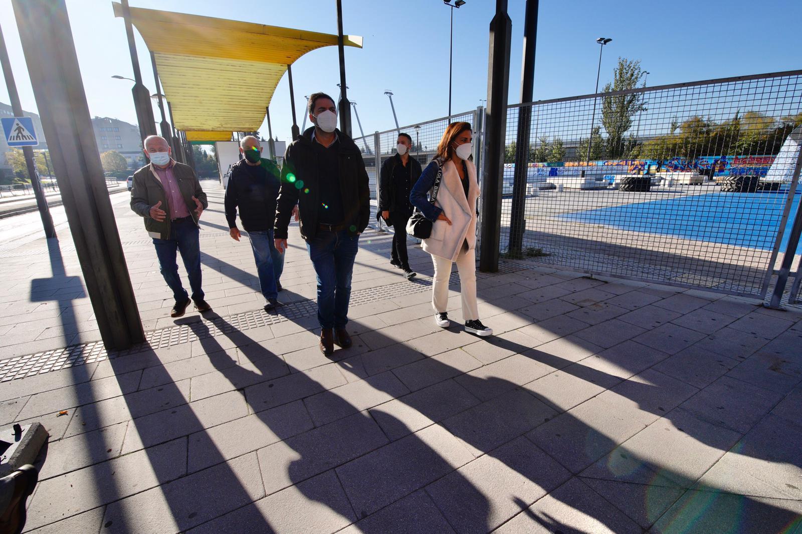 Ruz (PSOE) denuncia el abandono del espacio del antiguo botellódromo por parte del Ayuntamiento
