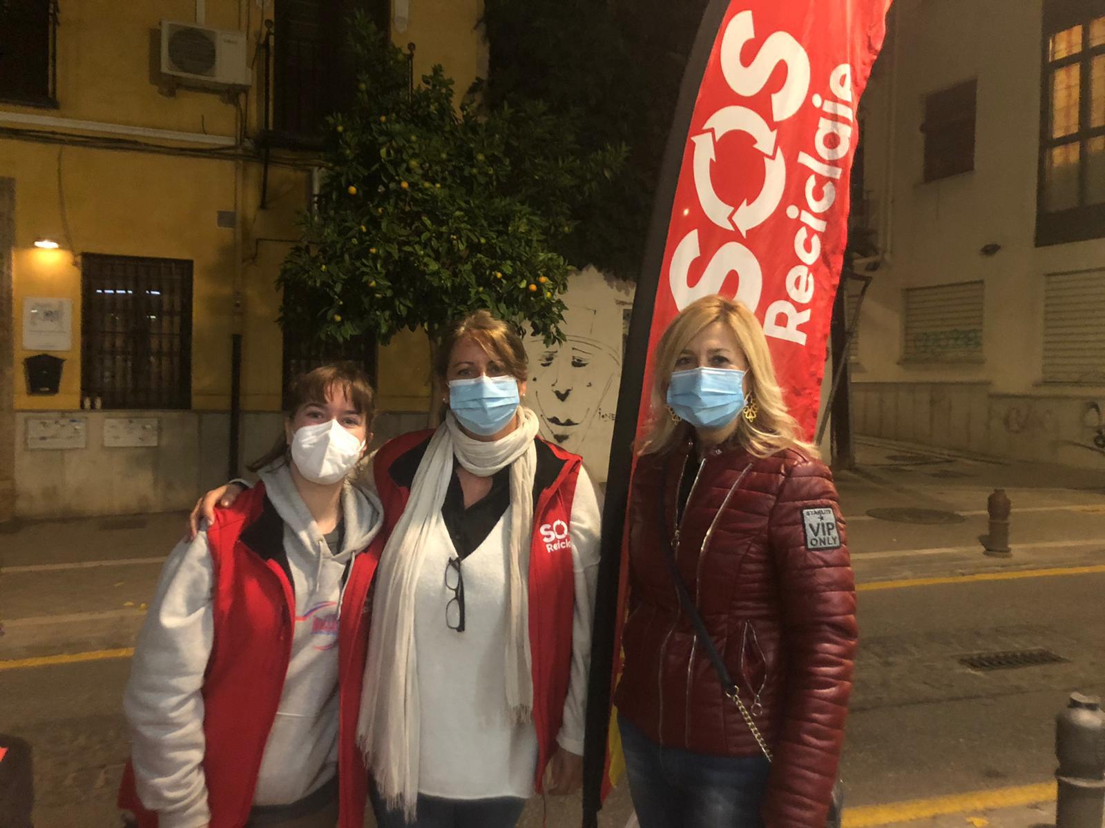 40.000 granadinos han participado en la campaña «SOS reciclaje»