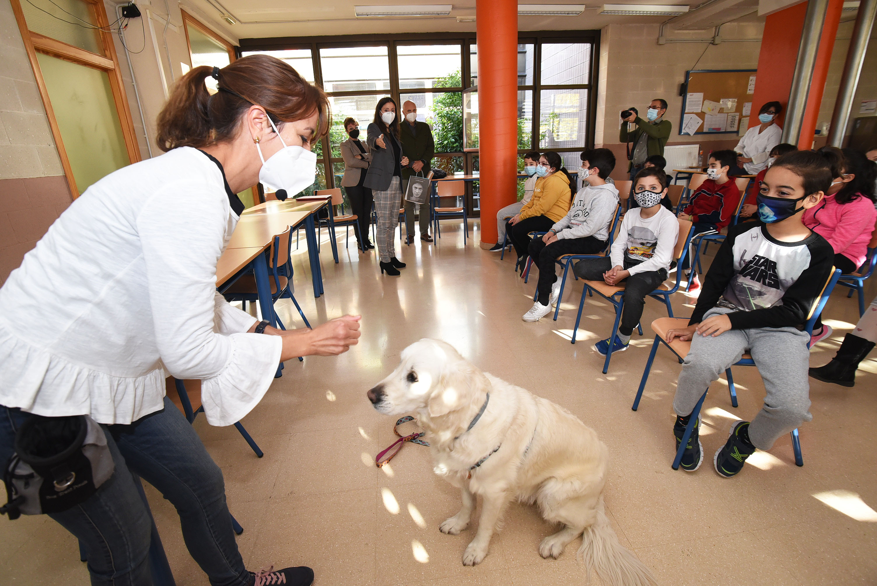 Activan una campaña de concienciación sobre los perros de asistencia y su inclusión en la sociedad