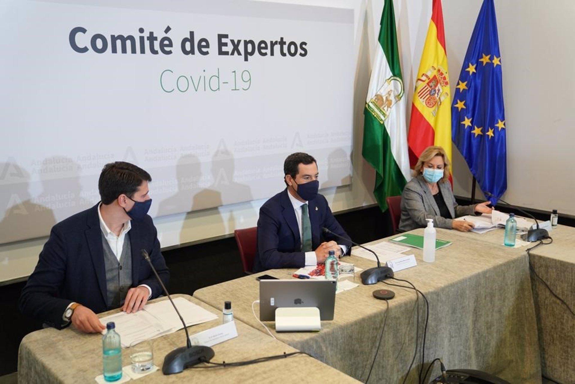Andalucía reabrirá desde el próximo jueves la movilidad entre sus provincias y Granada podrá abrir los bares hasta las 23.00 horas