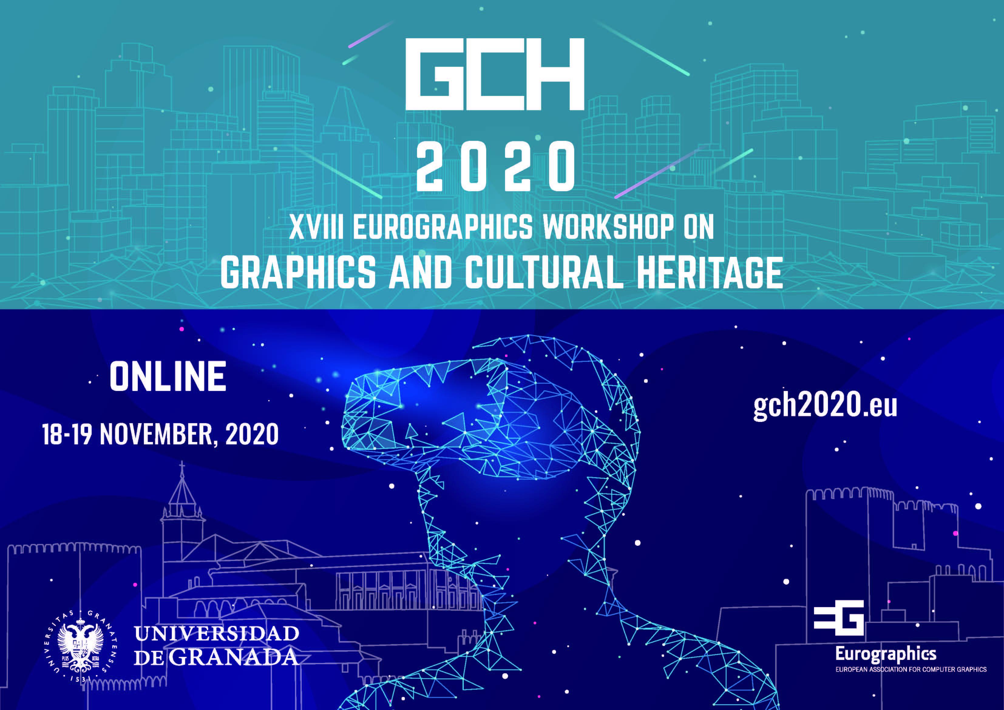 Los últimos avances en gráficos 3d y patrimonio cultural se comparten en un congreso internacional organizado por la UGR