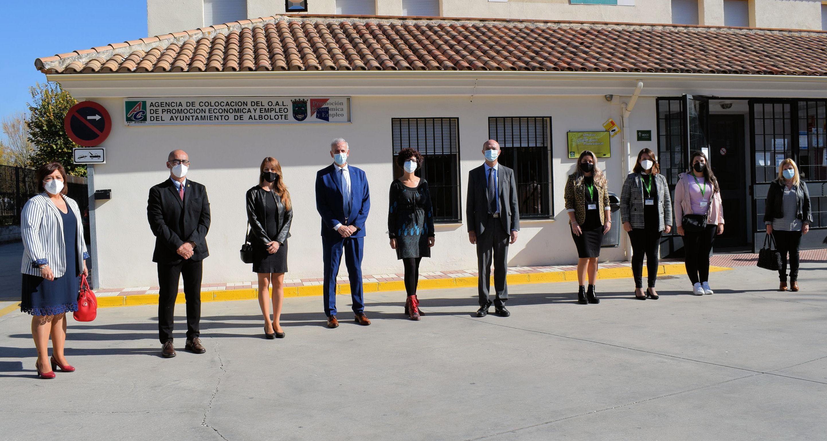 Albolote refuerza sus servicios municipales con las contrataciones del Plan Aire