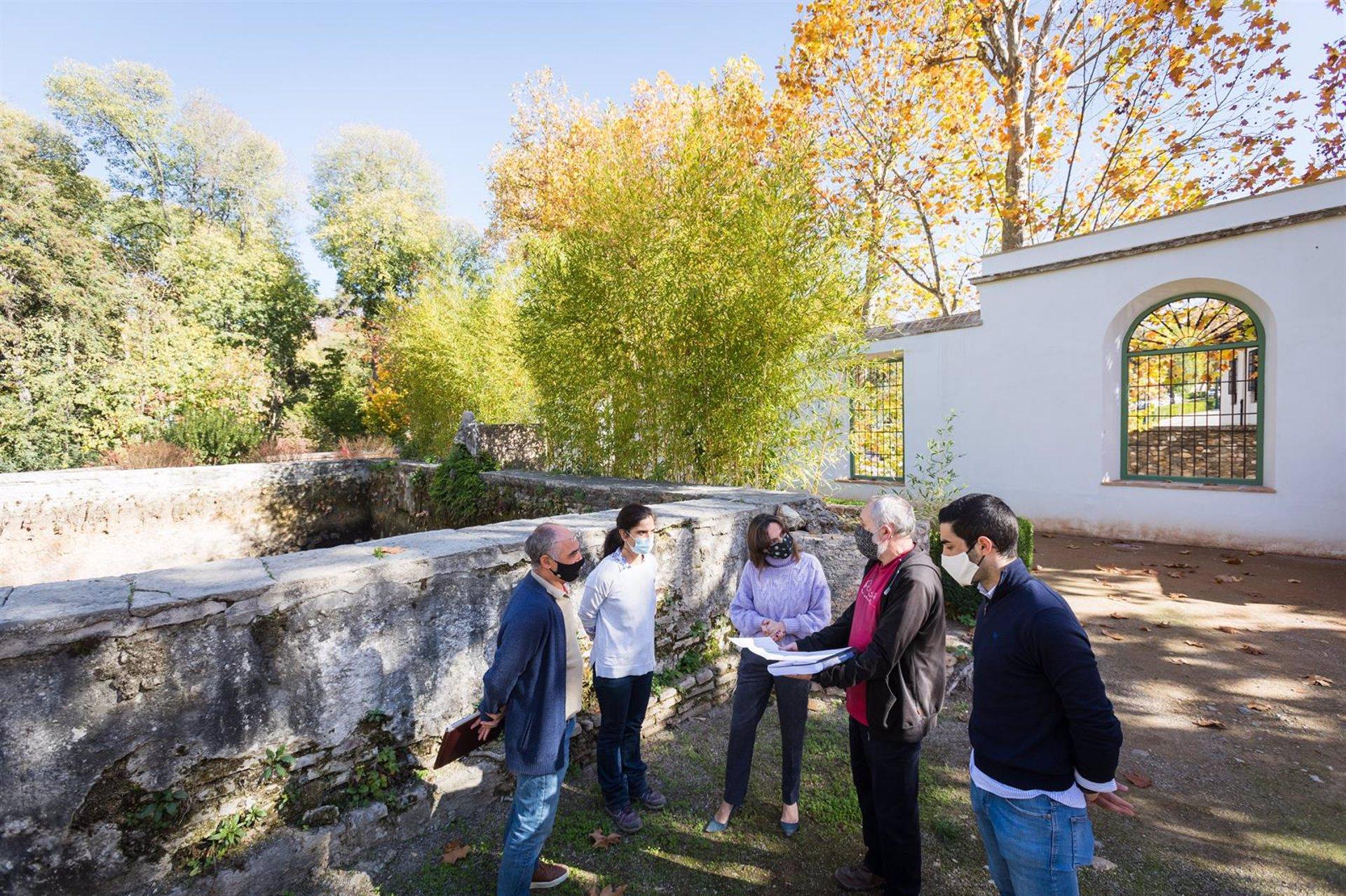 La Alhambra inicia la restauración del albercón del Carmen de Peñapartida
