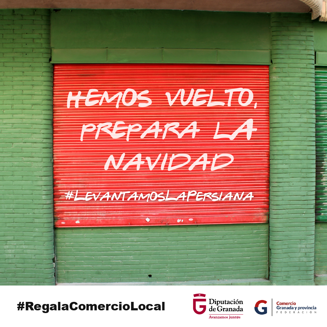 Diputación lanza una campaña en las redes para apoyar al comercio local en los municipios