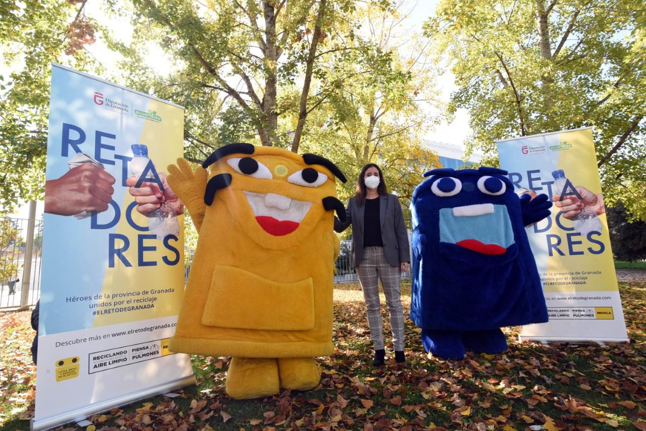 Diputación organiza una competición de reciclaje de envases entre los municipios granadinos