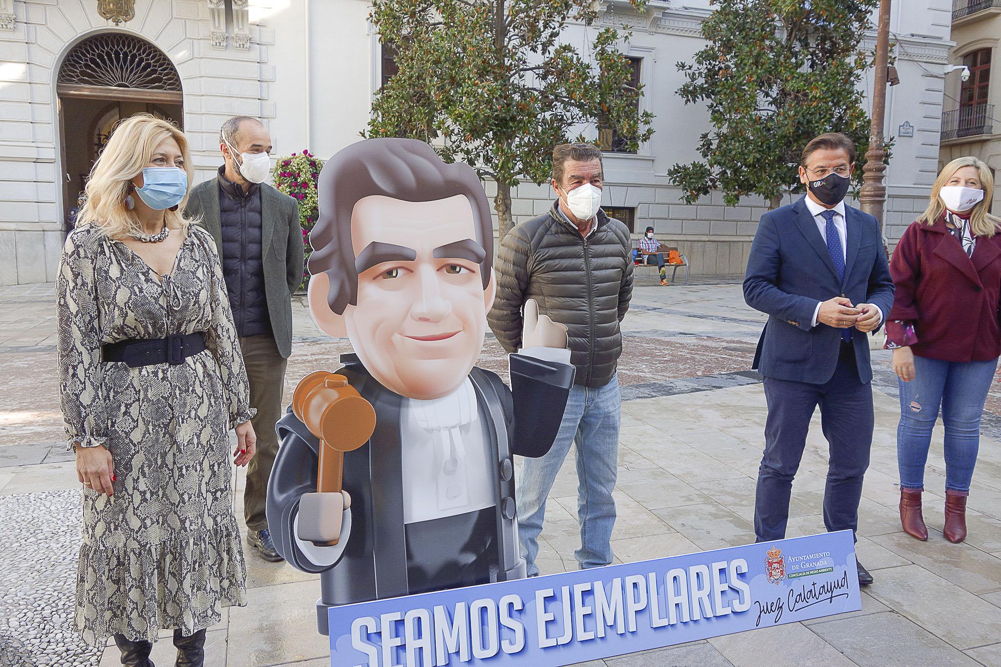 El Juez Calatayud será la imagen de la campaña «seamos ejemplares» en la limpieza de nuestra ciudad