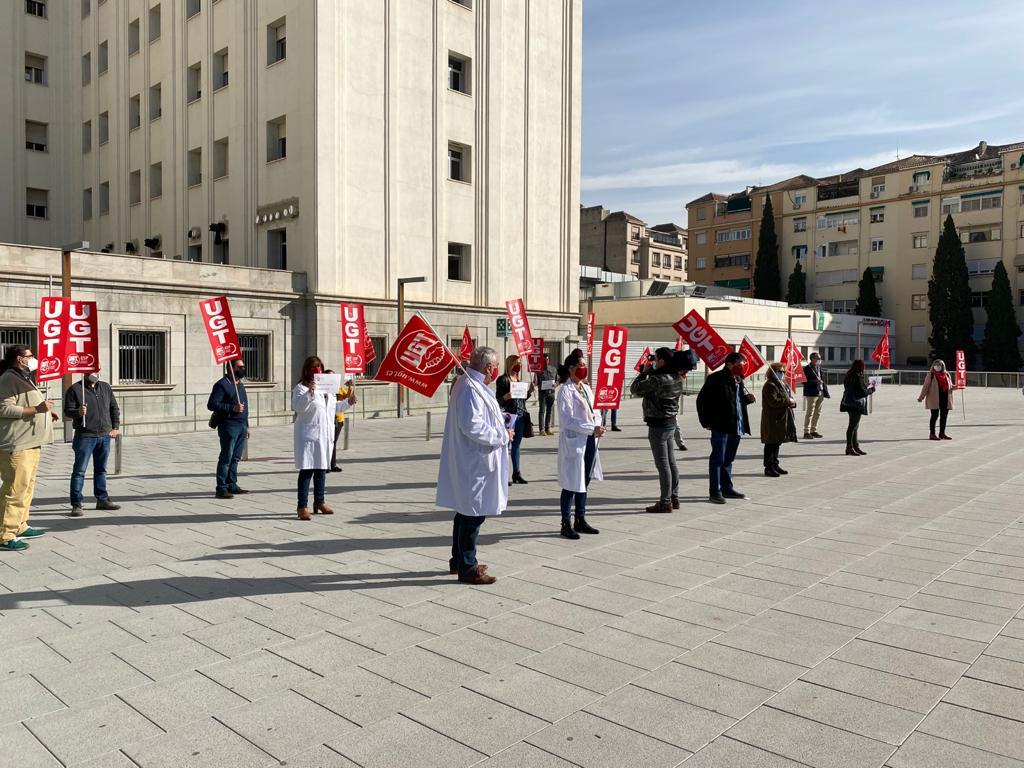 UGT mantiene las movilizaciones porque la nueva Orden sobre descansos y permisos es tan lesiva para los profesionales sanitarios como la anterior