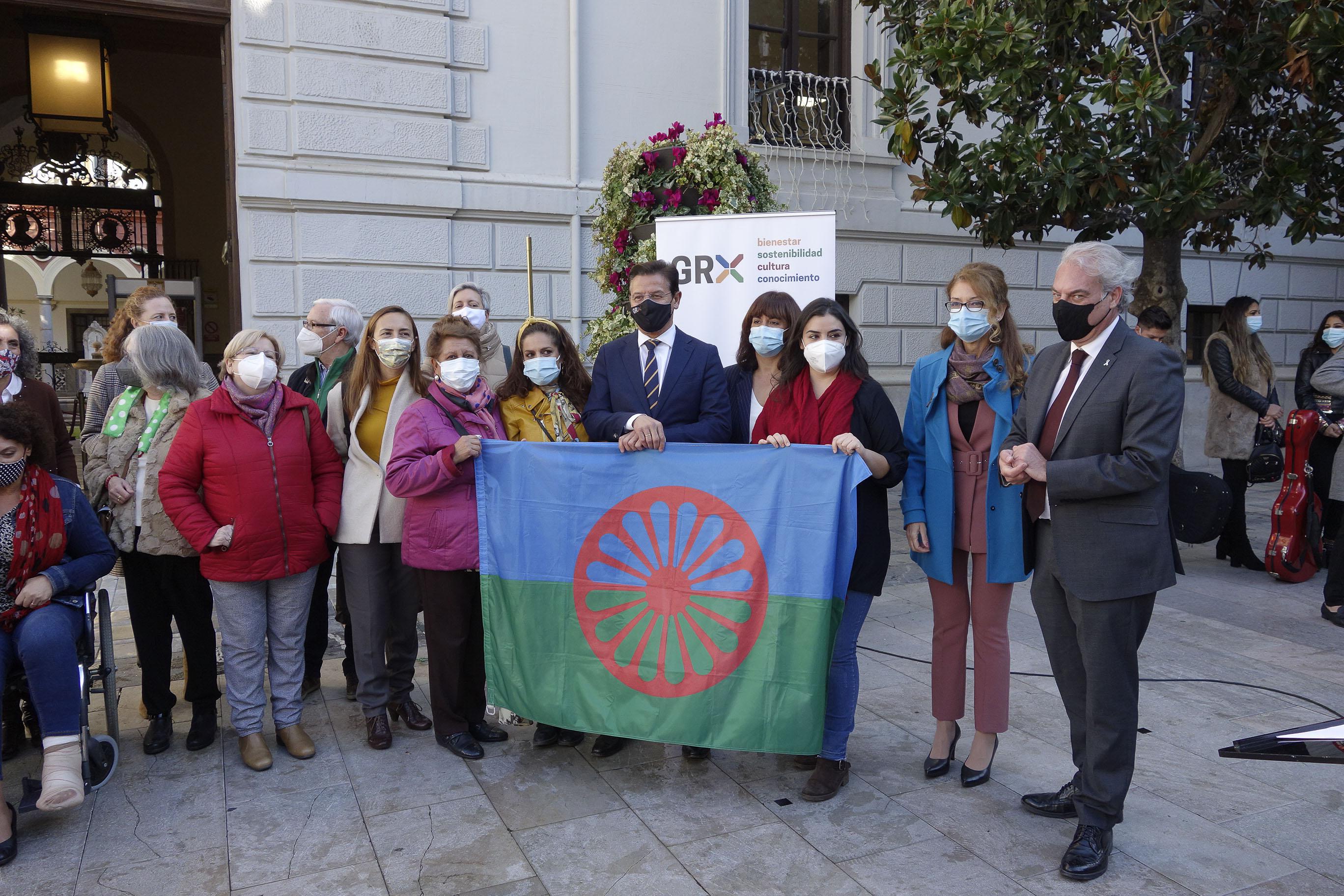 Instituciones y organizaciones sociales conmemoran del Día de los gitanos y gitanas de Andalucía