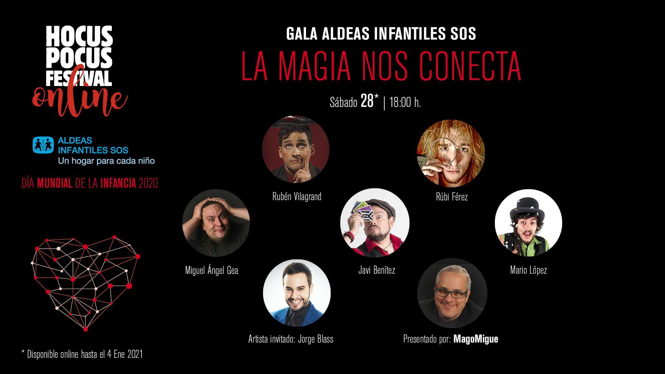 Hocus Pocus Festival regala ilusión con una Gala Online
