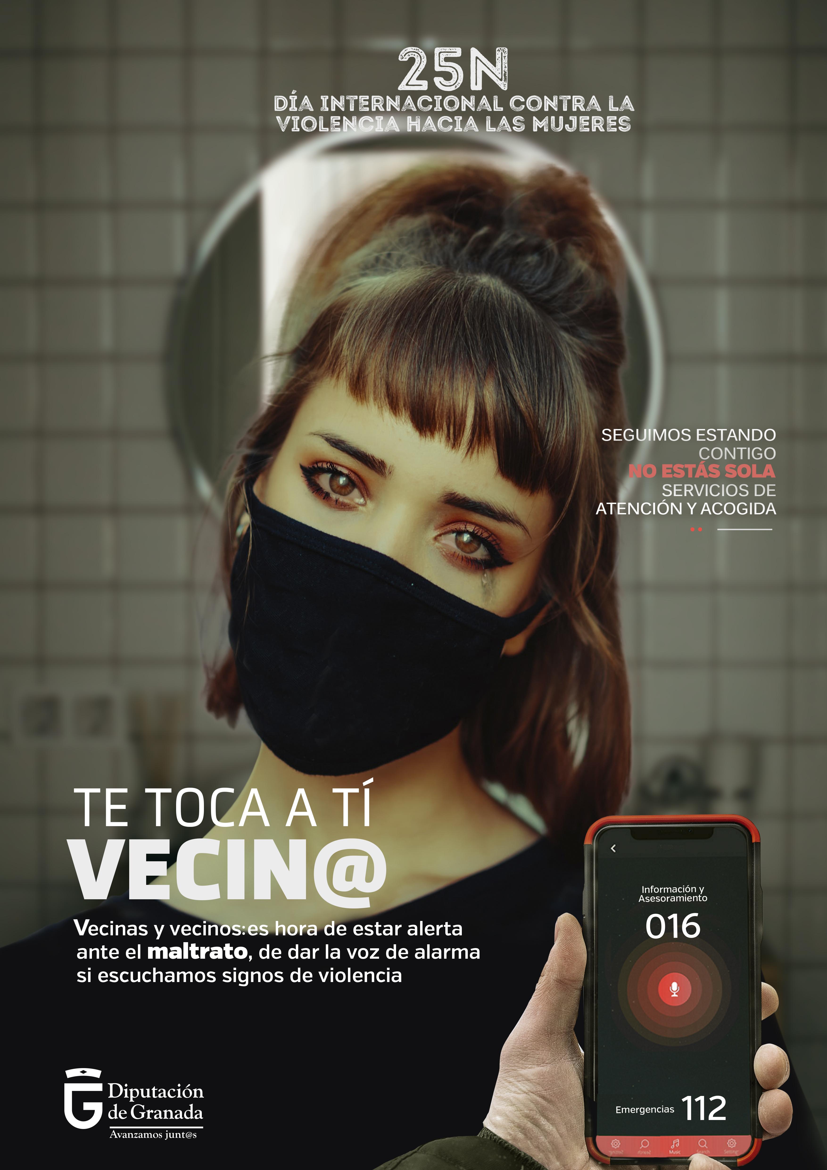 Diputación lanza una campaña para identificar y denunciar la violencia de género con motivo del 25-N