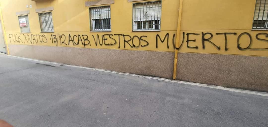 VOX denuncia ante la Guardia Civil pintadas amenazantes a su portavoz en Las Gabias