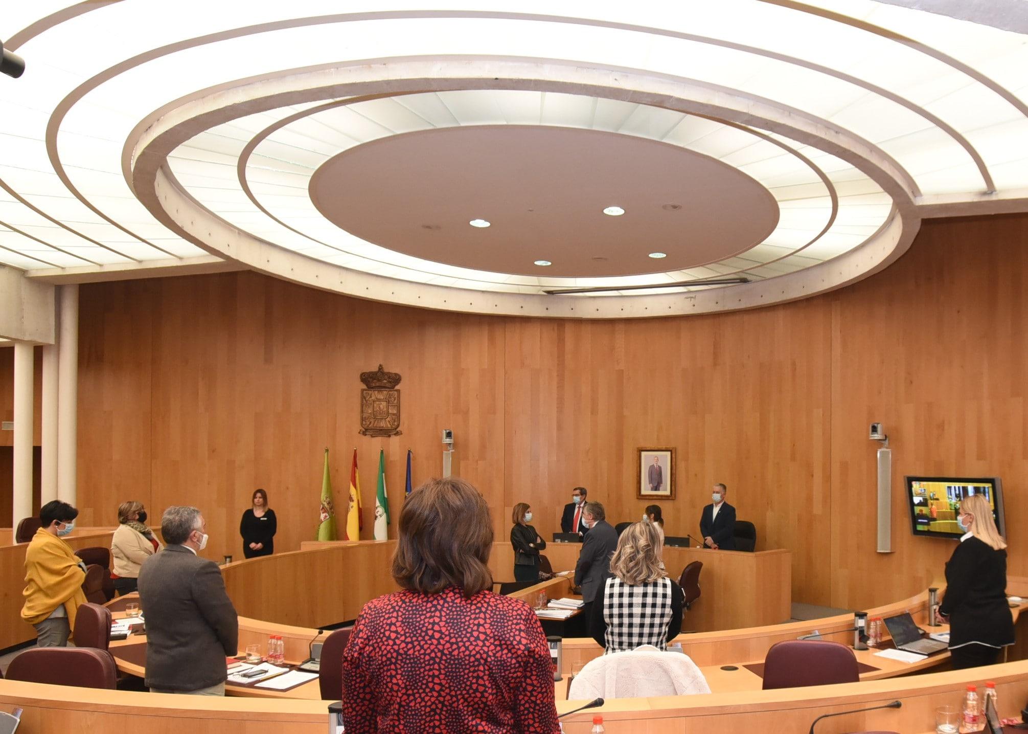 Diputación aprueba los presupuestos para 2021 con aportaciones de Ciudadanos, IU y Adelante