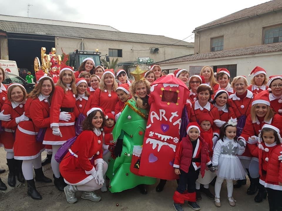 Otura organiza este año una cabalgata de Mamá Noel para reivindicar la igualdad