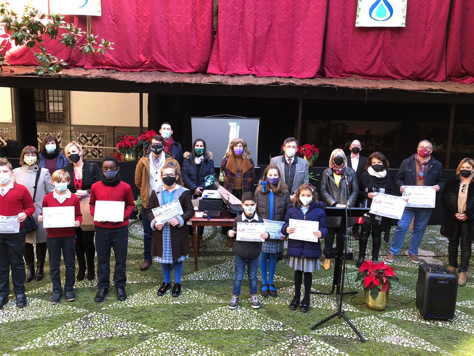 Los colegios Juan XIII Cartuja y C.D.P. La Asunción ganan el certamen de cuentos de Navidad