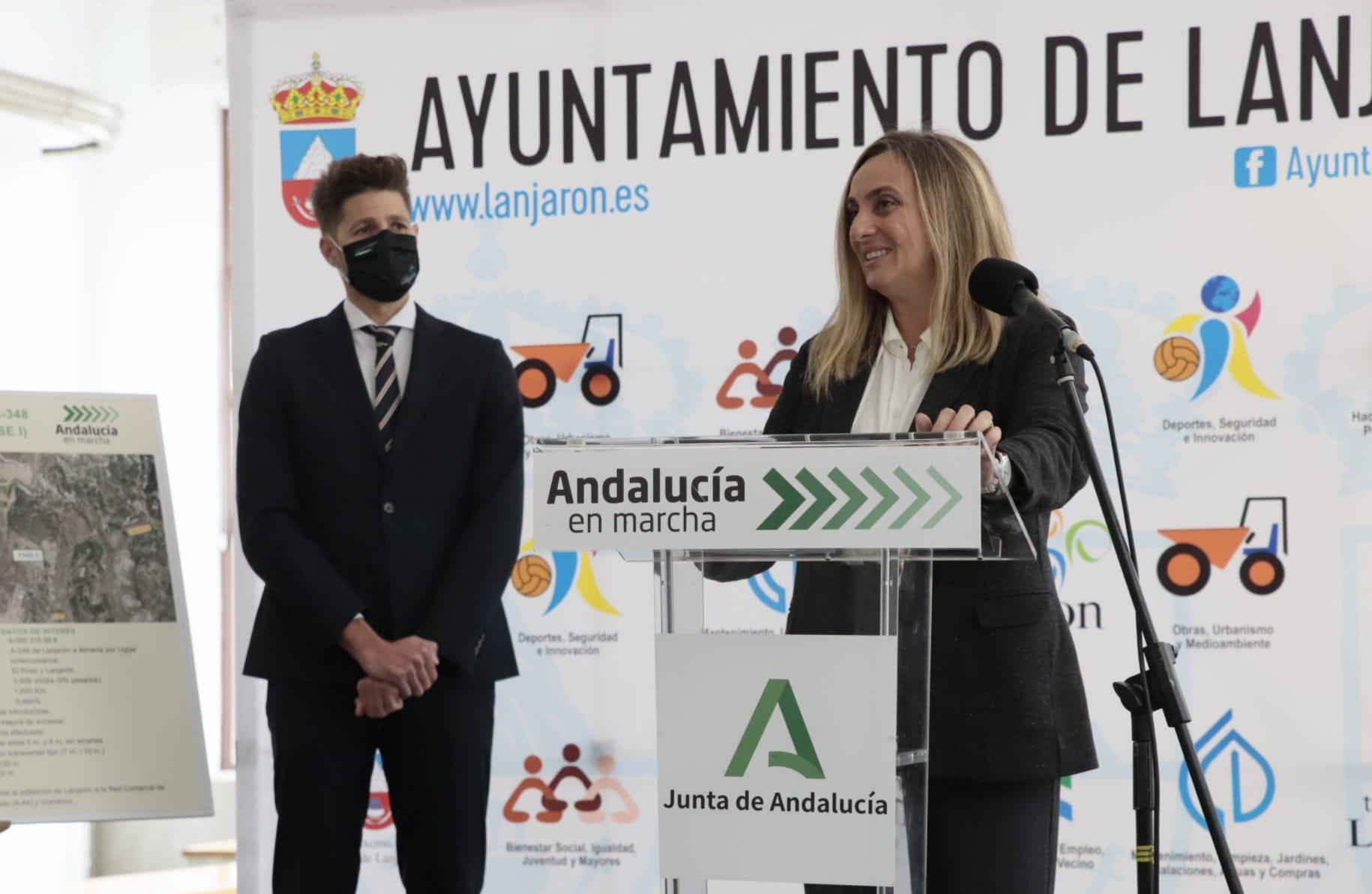 La Junta anuncia un nuevo acceso a Lanjarón