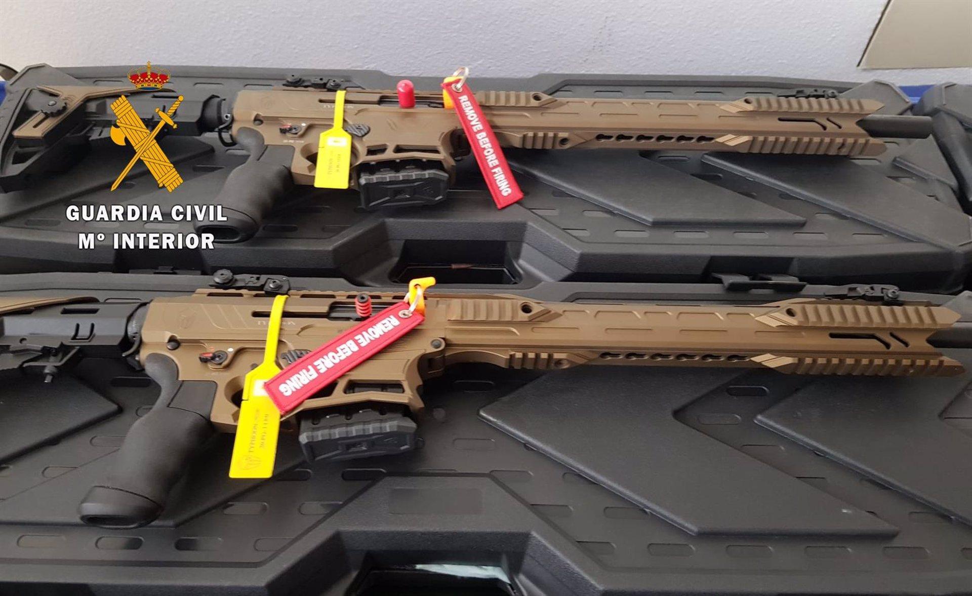 Cae una organización criminal de tráfico de armas con la detención de los dueños de una armería