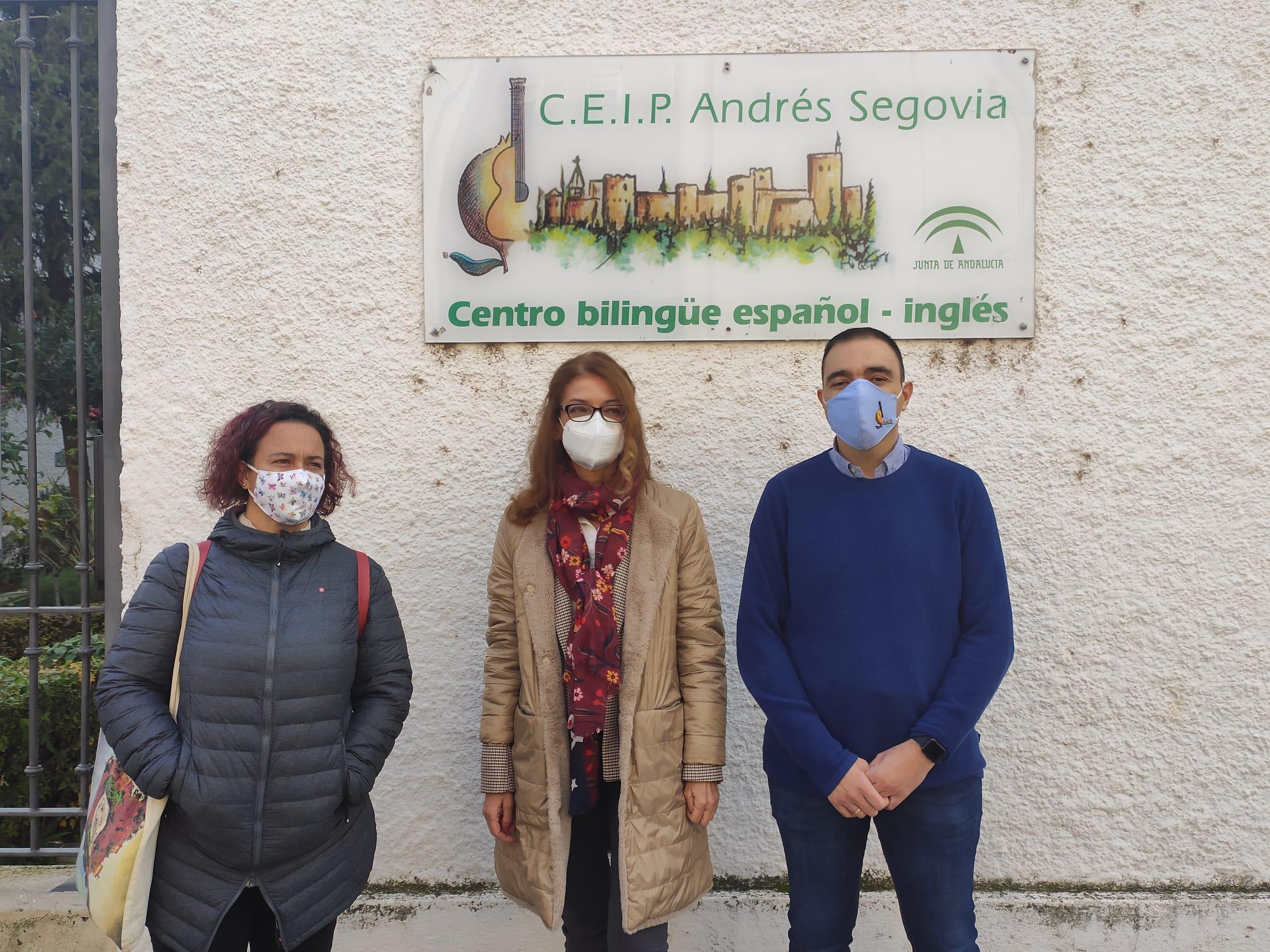 El CEIP Andrés Segovia cuenta con nueva caldera de calefacción tras varios meses de espera