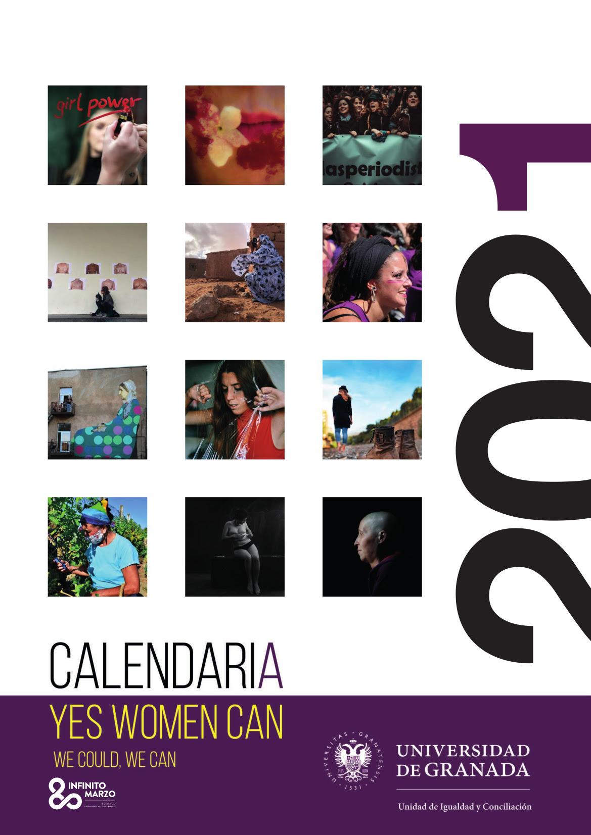 """""""CalendariA 2021"""", doce imágenes reivindican la Igualdad para el nuevo año"""