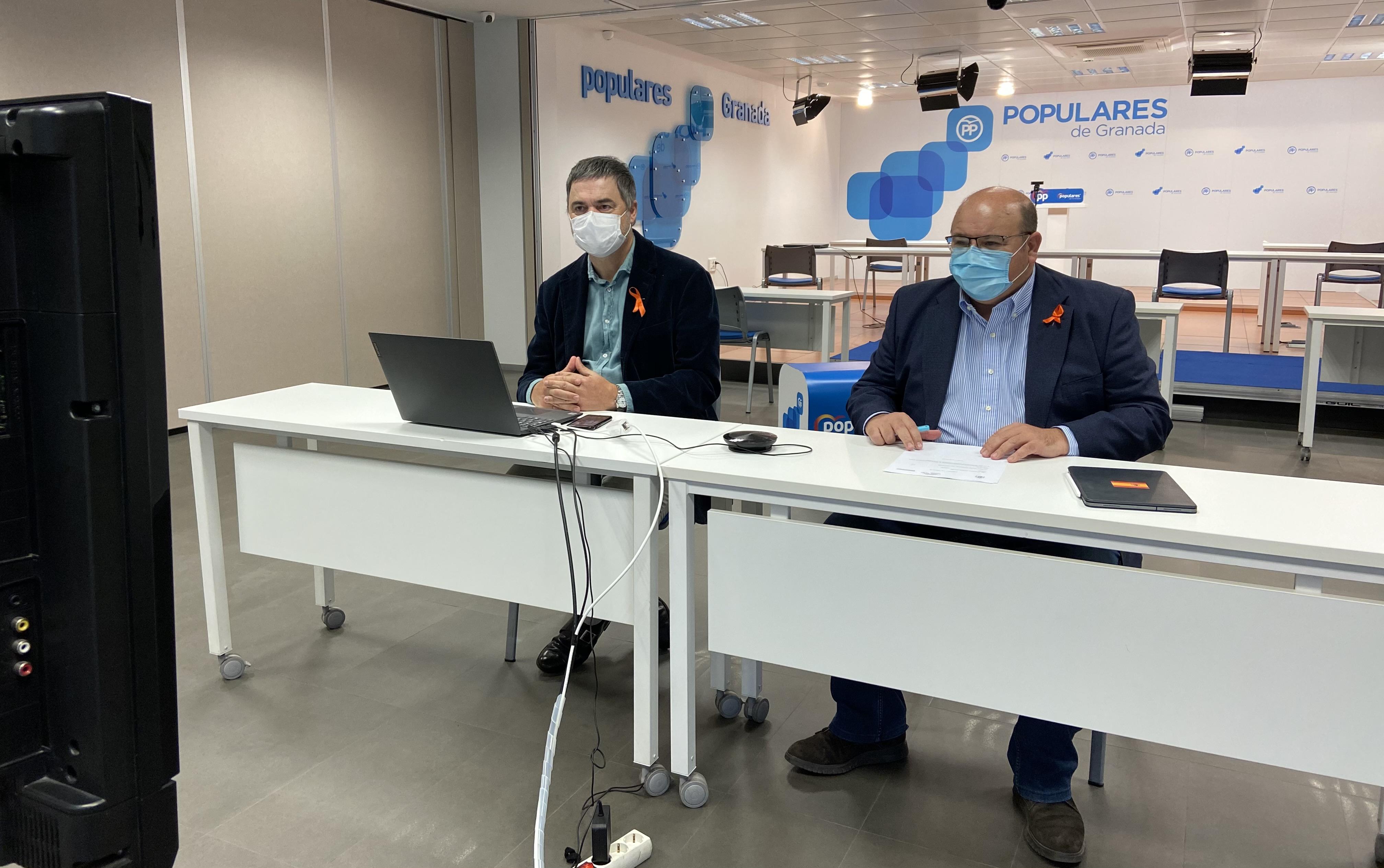 El PP instará al Gobierno a solucionar los problemas de plantilla en la prisión de Albolote y que establezca un protocolo Covid