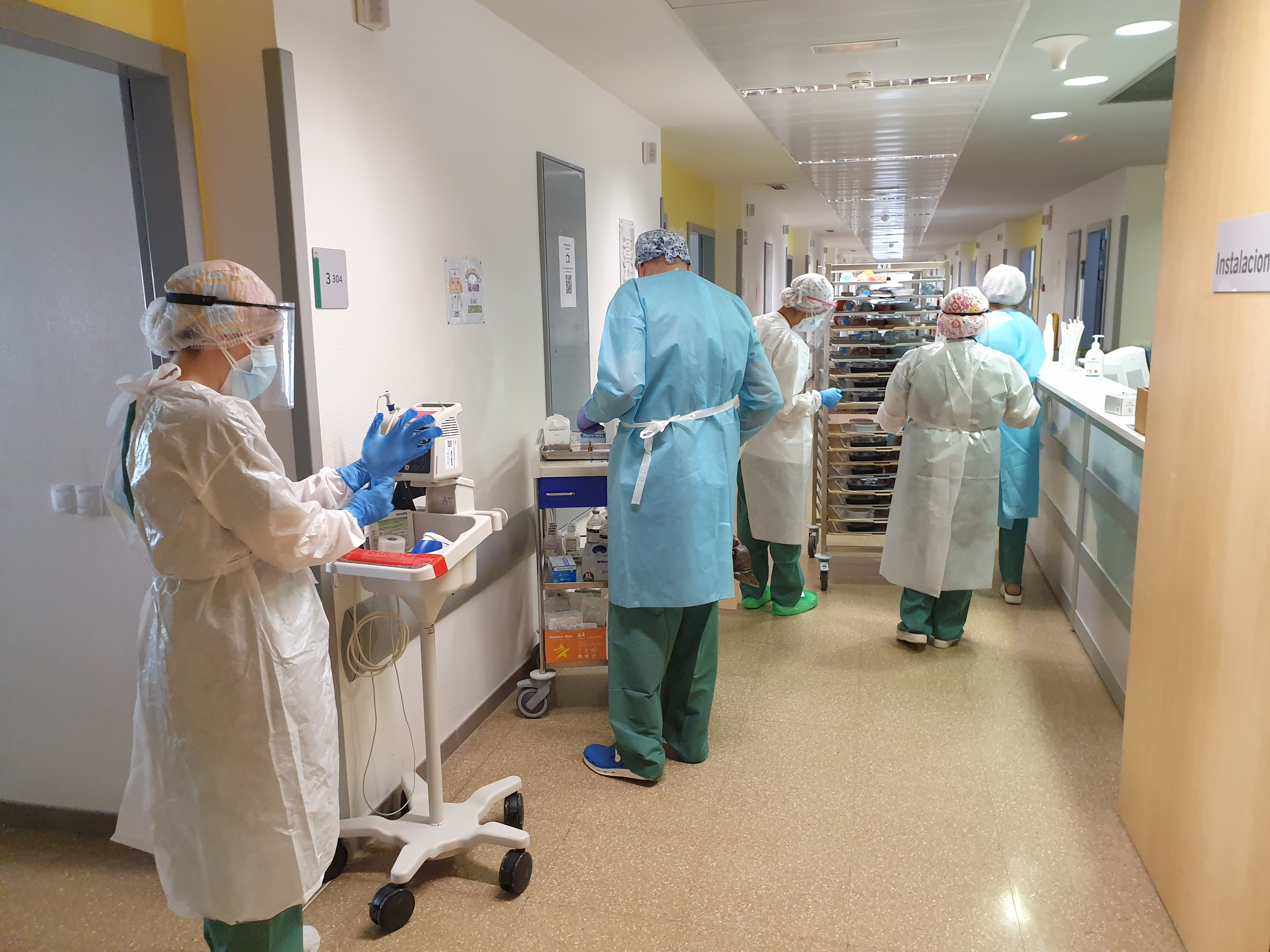 El Clínico incorpora una dieta especial adaptada para pacientes hospitalizados con coronavirus