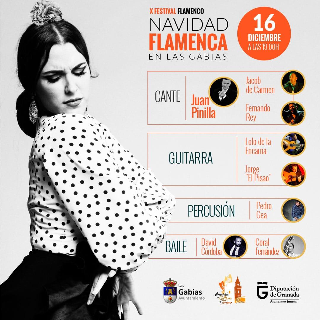 Las Gabias celebrará este año en Navidad su tradicional festival flamenco veraniego
