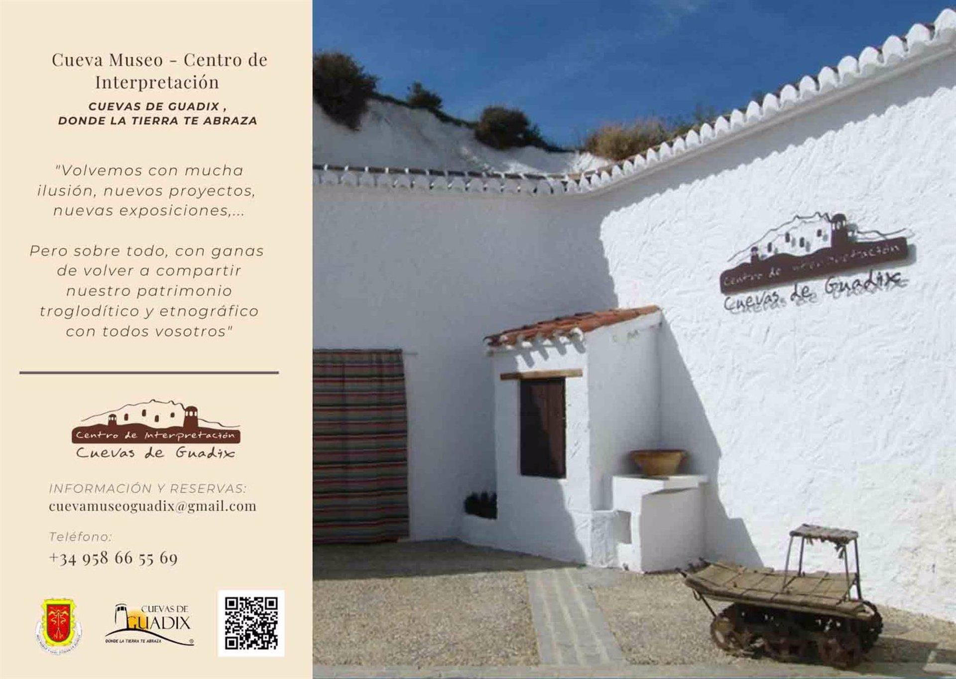 Reabre al público el Centro de Interpretación Cuevas de Guadix desde este sábado