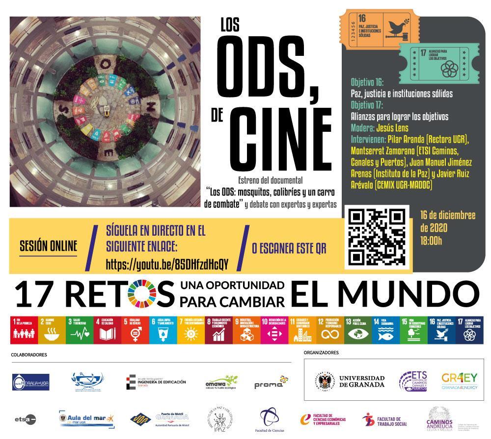 """El Cineforum """"Los ODS, de cine"""" clausura su ciclo con el estreno de un documental sobre la mejora del medioambiente"""