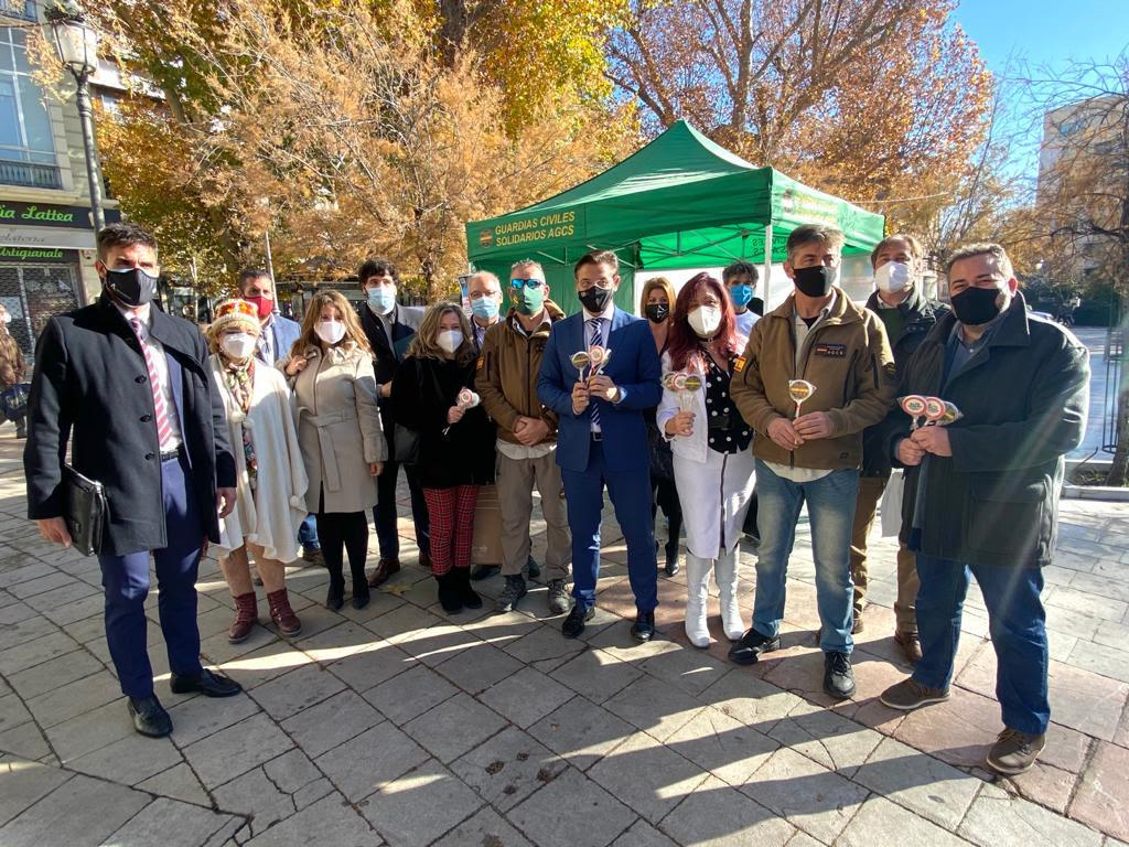Ciudadanos Granada consolida su apoyo y colaboración con Guardias Civiles Solidarios