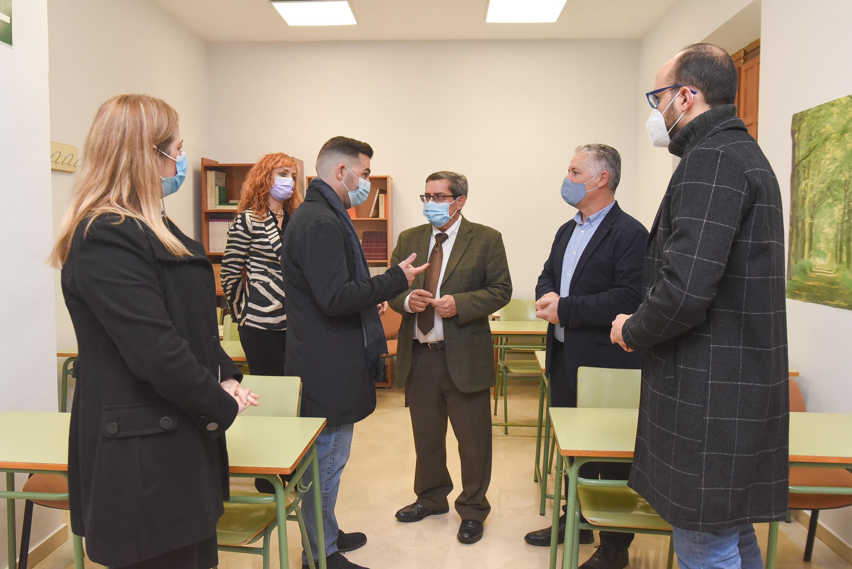 Concluye la rehabilitación del Centro de Día de Maracena con una inversión de 150.000 euros