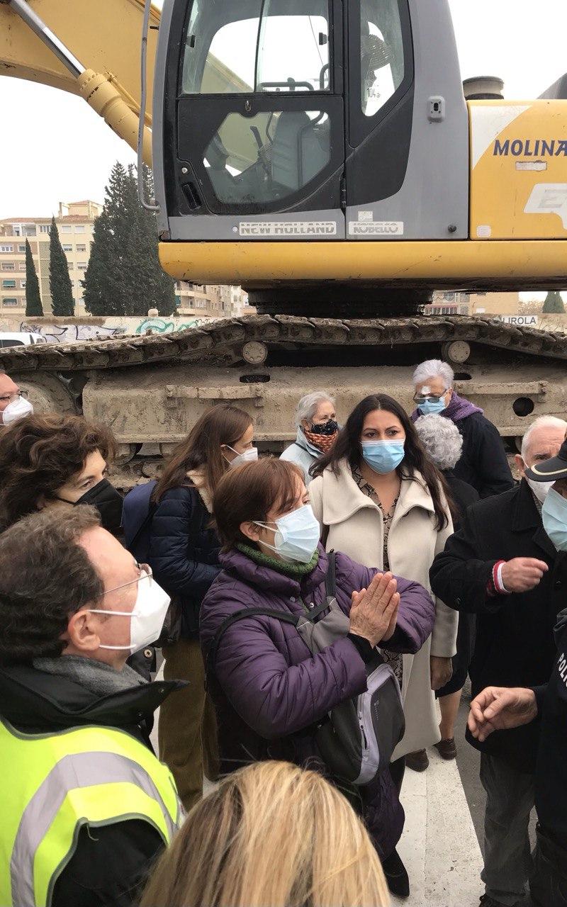 Podemoscuestiona al Ayuntamiento de Granada por el intento de derribo y desalojo de las naves de Villa Pineda