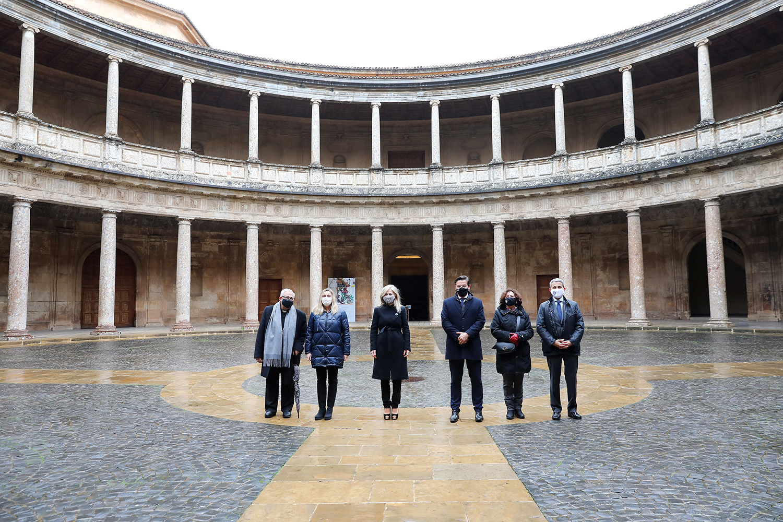 """La Junta destaca el """"compromiso del Gobierno andaluz con Granada"""" en la firma del Plan Alhambra"""