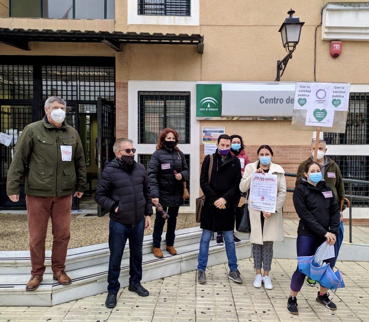 Podemos Granada exige la mejora y el fortalecimiento de la atención primaria