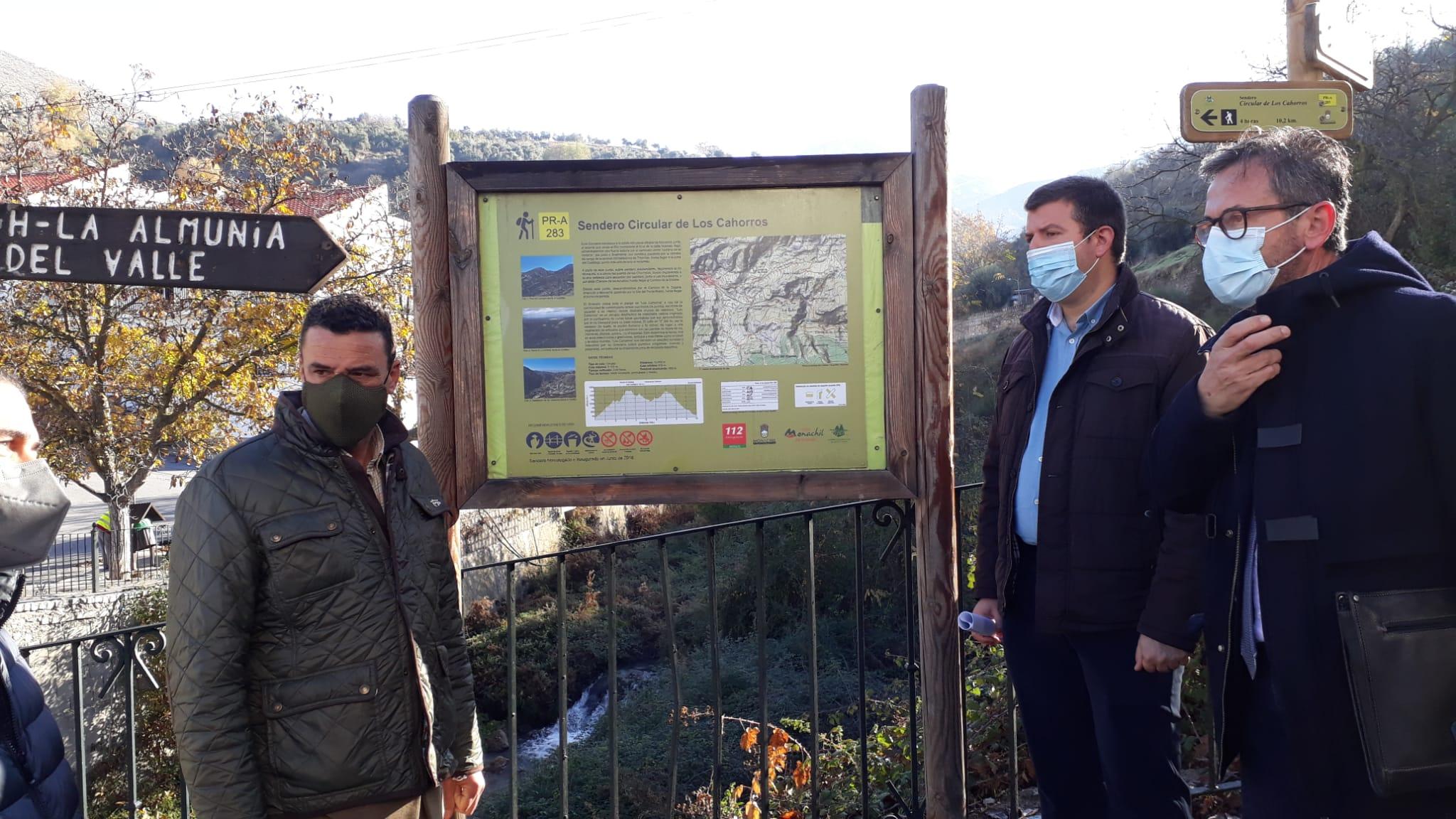 Invierten más de 50.000 euros en la mejora de los accesos al Molino de los Aragoneses de Monachil