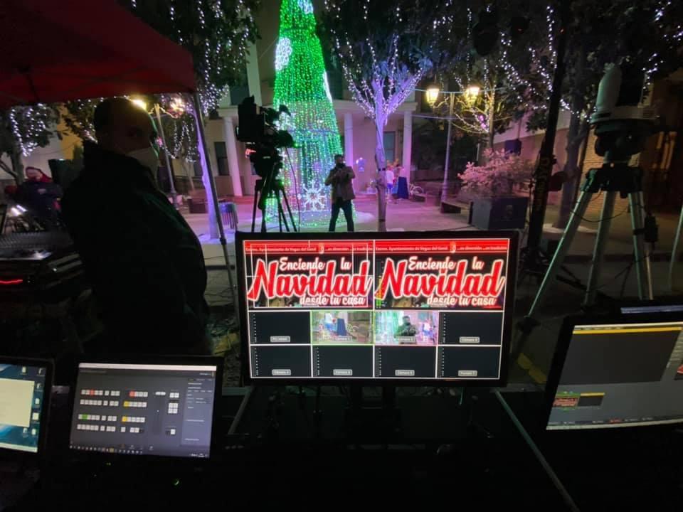 Más de 4.000 personas disfrutan de una fiesta navideña 'on line' en Vegas del Genil