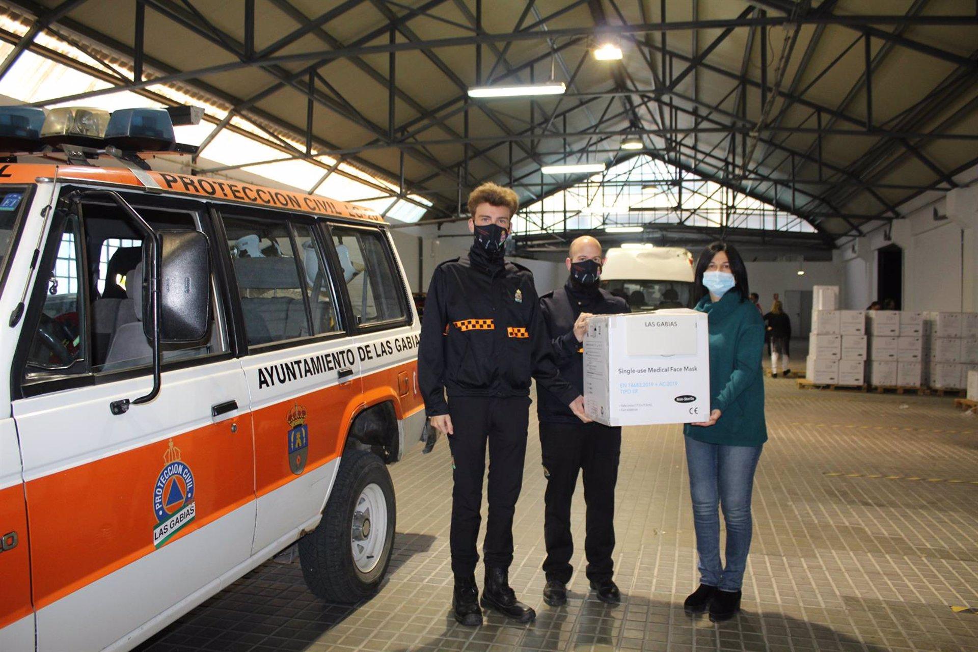 Subdelegación reparte más de 230.0000 mascarillas entre ayuntamientos y entidades sociales