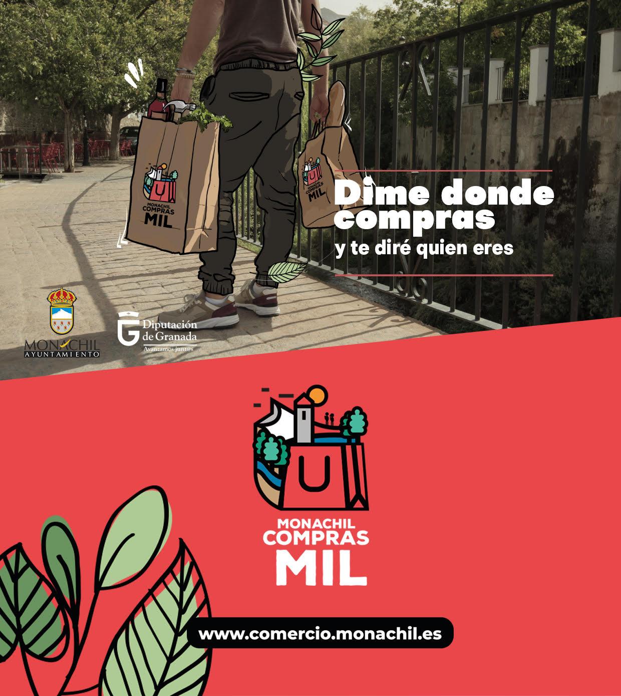 'Monachil compras mil' campaña municipal para ayudar a los comercios a promocionarse