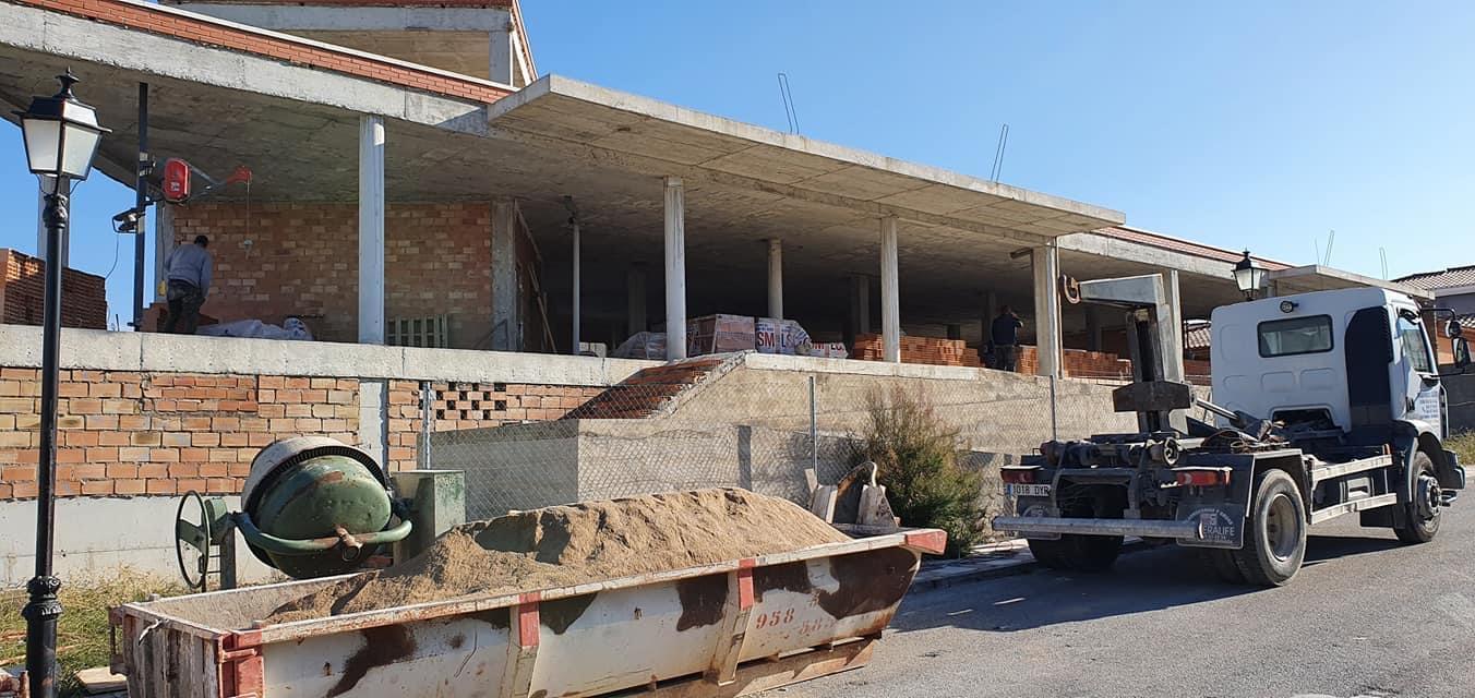 Cúllar Vega retoma las obras del centro multifuncional de la urbanización 'El Ventorrillo'