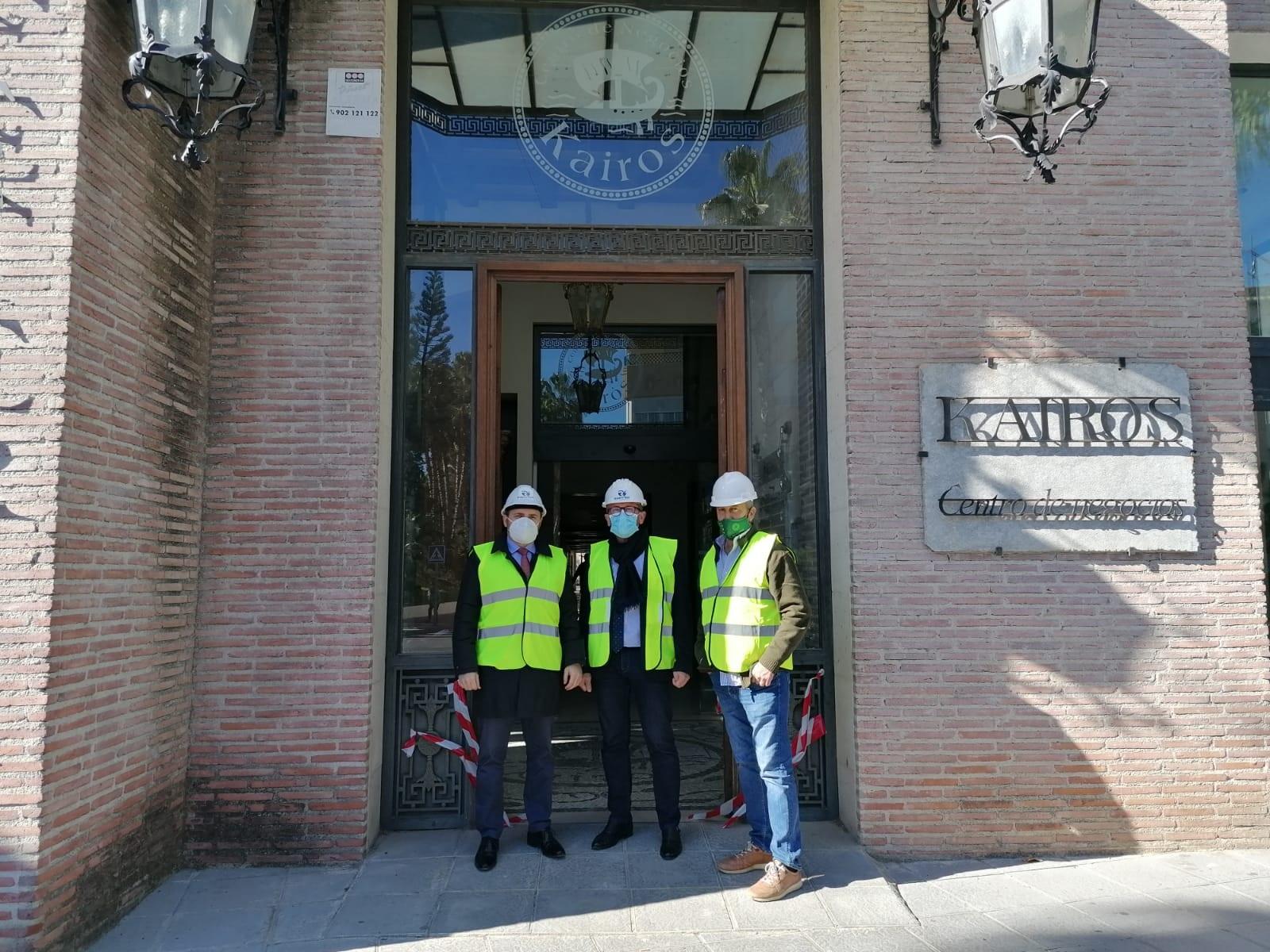 Justicia inicia las obras de la nueva sede judicial de Almuñécar