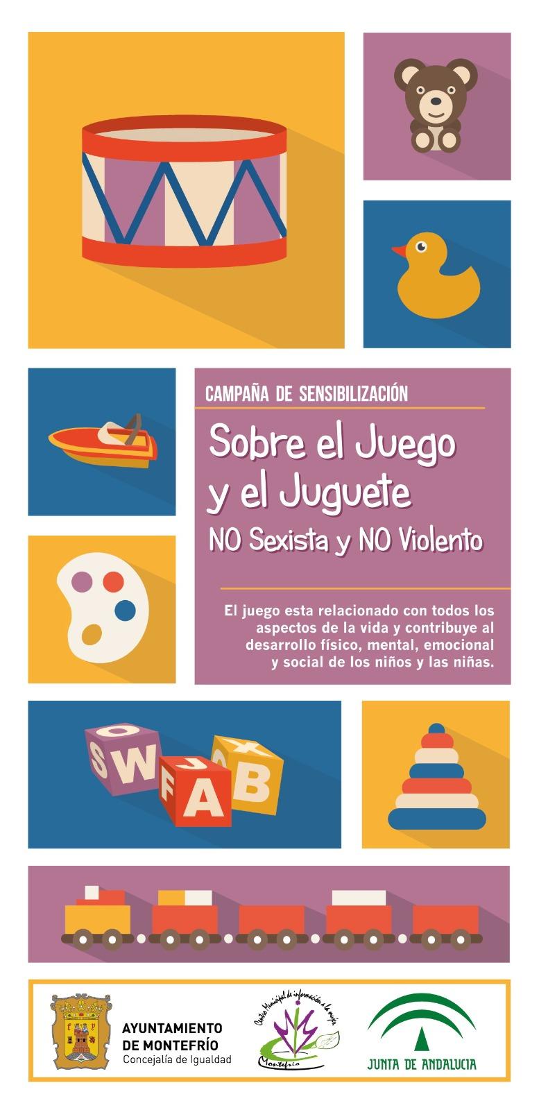 Montefrío lanza una campaña para promocionar el juguete no sexista ni violento en estas fiestas