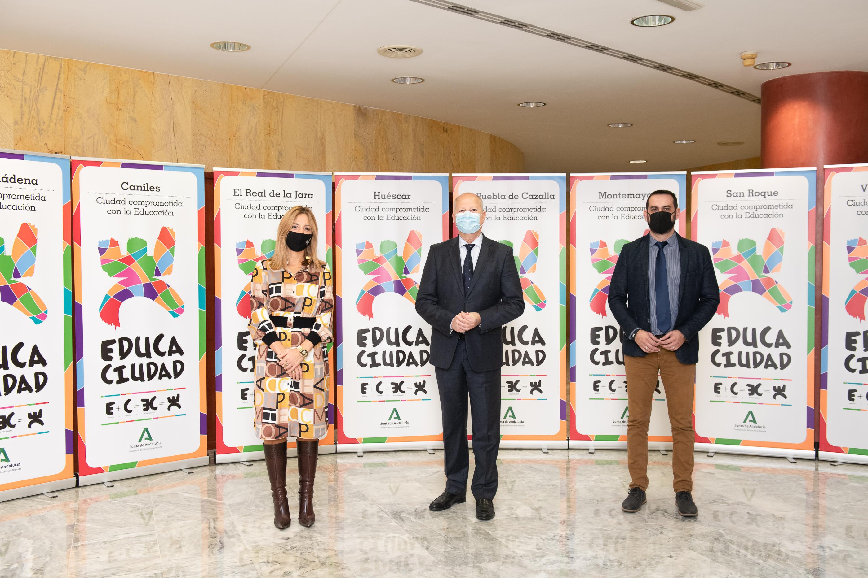 Caniles y Huéscar son distinguidos con los Premios Educaciudad por su compromiso con la enseñanza