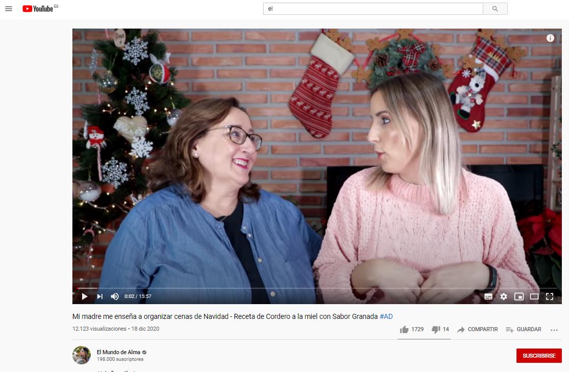"""Diputación promociona el uso de productos de Sabor Granada en la cocina junto a 4 """"youtubers"""" granadinas"""